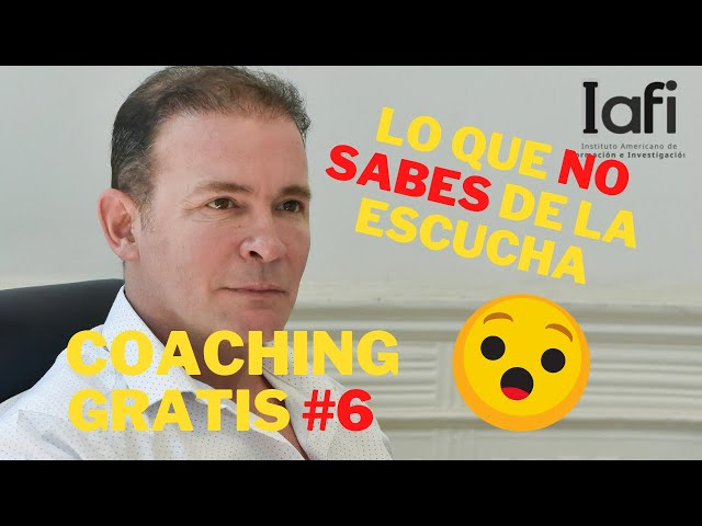 ESCUCHA ACTIVA 🦻 COACHING ONTOLÓGICO