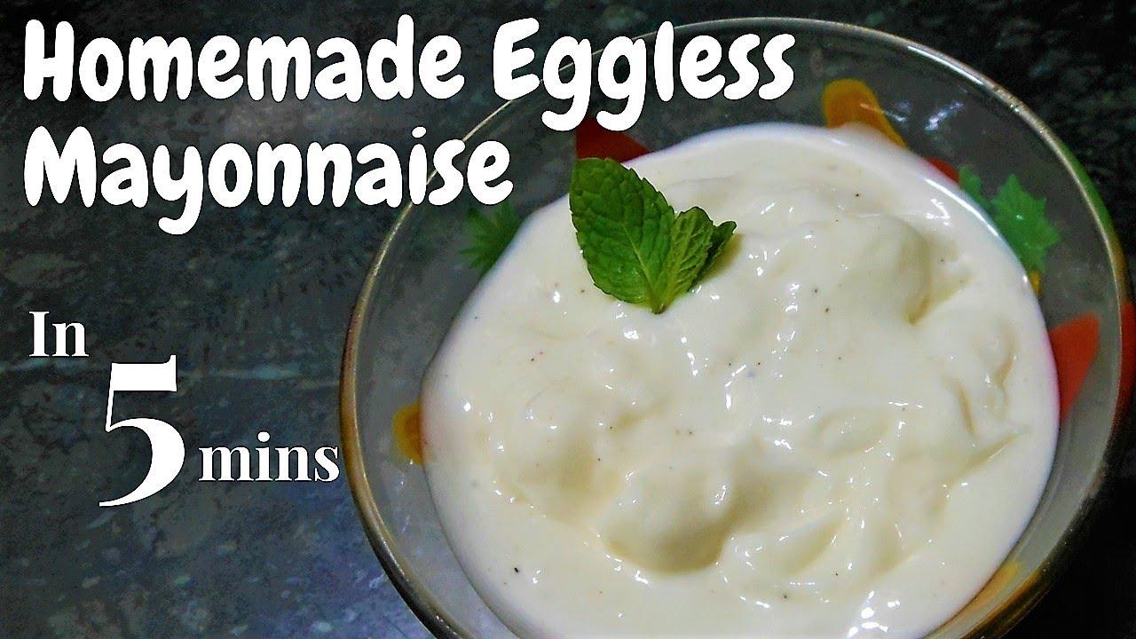 Homemade Eggless Mayonnaise, Easy and Perfect Mayonnaise recipe, Mixer Grinder me Mayonnaise banaye