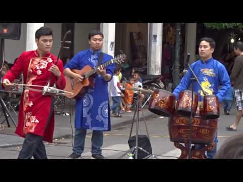 hanoi vietnam outdoor music part 1