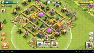 Clash of Clans Town Hall 5 Farming Defense Base Layout - Best TH5 Setup