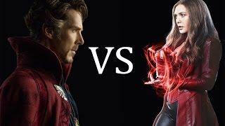 АЛАЯ ВЕДЬМА против ДОКТОРА СТРЭНДЖА ( Scarlet Witch vs Doctor Strange)