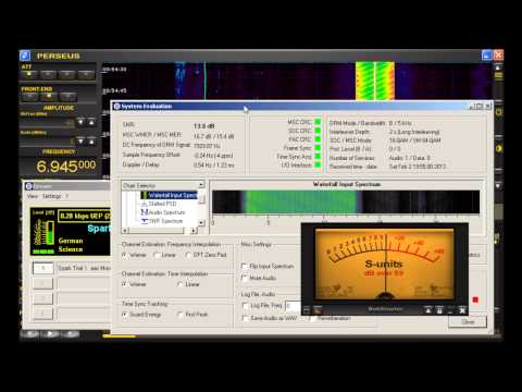 "Shortwave Pirate Station ""Undercover Radio"" Tests DRM (Digital Radio Mondiale)"