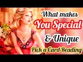 HOW SPECIAL AND UNIQUE YOU ARE -  TIMELESS - ALL SUN SIGNS - PICK A CARD READING - MWT