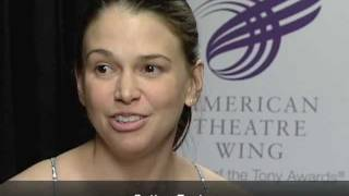 Talkin Tonys - Sutton Foster (Shrek The Musical)