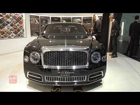 2019 Bentley Mulsanne Mulliner 100years W.O.Edition- Exterior Interior-Geneva 2019
