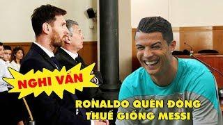 Bản tin Troll Bóng Đá số 82: Ghen vì Messi trốn thuế, Ronaldo cũng định trốn theo!