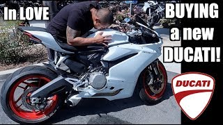 I BOUGHT my DREAM BIKE!| Ducati 959 Panigale