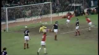 Brian Flynn great goal, Wales v Scotland 1975