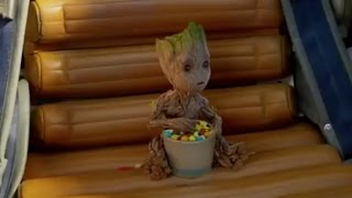 Guardians of the Galaxy Vol. 2: New Instagram Movie Clip - Baby Groot, Drax, Chris Pratt