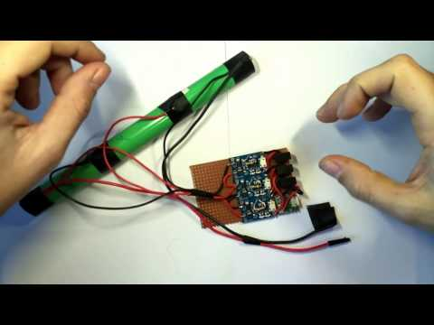 Balanced 3S Lithium Cell Charger Using The TP4056