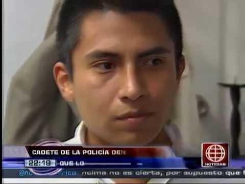 Am�rica Noticias: Cadete de la Escuela de Oficiales de la PNP dijo que lo expulsaron por venganza
