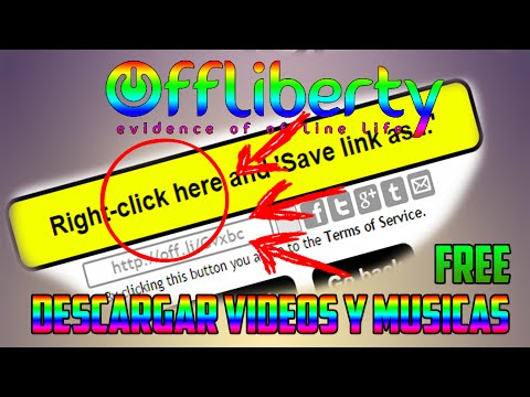 DESCARGAR VIDEOS Y MUSICAS GRATIS//Offliberty