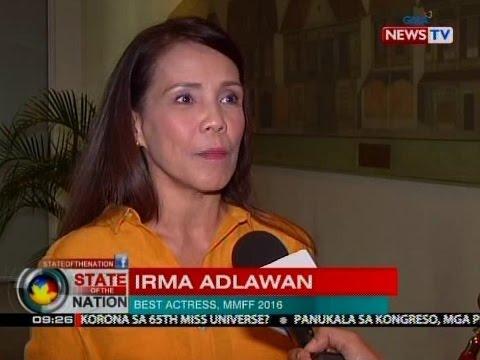 """Bida ng """"Oro"""" na si Irma Adlawan, nanggagalaiti kaugnay ng kontrobersiya sa kanilang MMFF entry"""