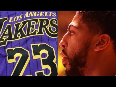 "Lakers LEAK ""City Edition"" Jerseys! Anthony Davis Signing With Lakers?!"