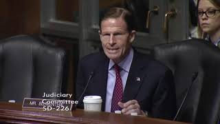 Sen Blumenthal FAILS At Getting Deputy AG Nominee To Support Full Release Of Mueller Report 4/10/19