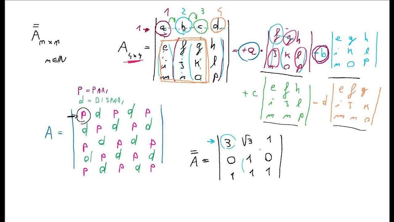 Moltiplicazioni Tra Matrici.Mate 5 Determinanti E Prodotto Tra Matrici