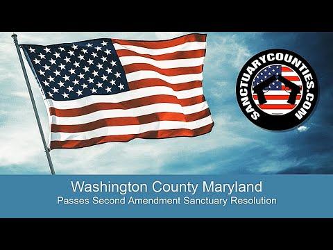 Washington County Maryland Declared a Second Amendment Sanctuary