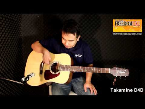 Takamine D4D Review by Freedom Uku Music