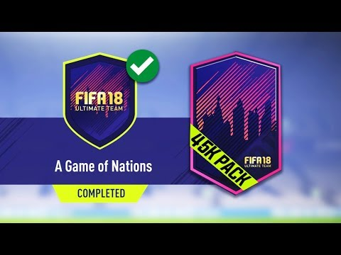 A GAME OF NATIONS SBC COMPLETED!! - CHEAPEST METHOD! FIFA 18