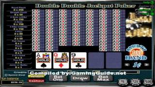 Double Double Jackpot Poker 100 Hand Video Poker