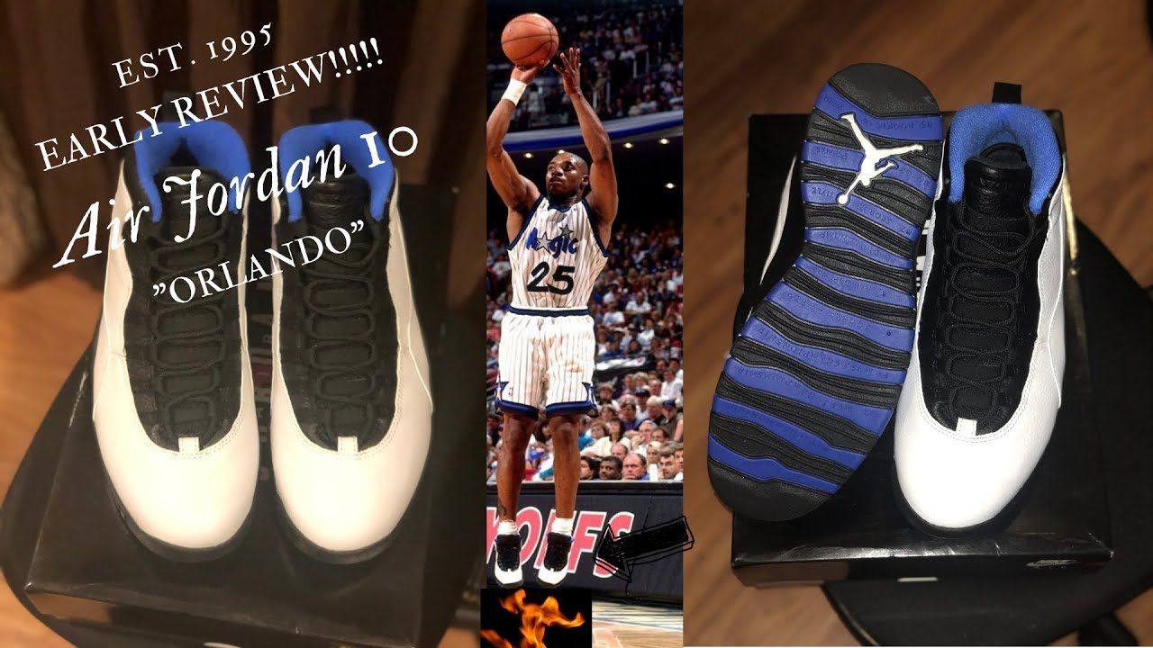 new concept 2c5f1 5af5c WATCH BEFORE YOU BUY!!! Early Review Air Jordan 10
