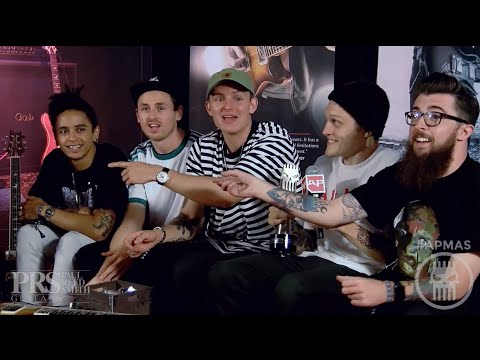 APMAs 2016 Interview: NECK DEEP | PRS Backstage Lounge