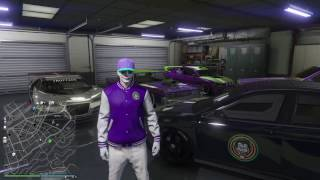 JOKERS CAR GARAGE! GTA V ONLINE!