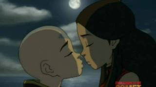 Avatar - Aang and Katara Kiss