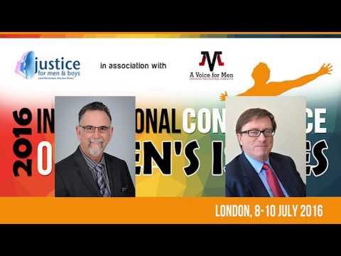 15 April 2016: Paul Elam and Mike Buchanan - Male Genital Mutilation, London conference...