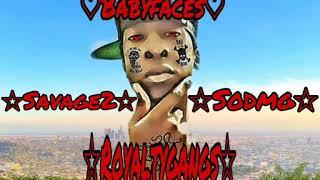 BabyFaces • Red Savage On The Block #BabyFacesGang1 #sodmg #RoyaltyGangs