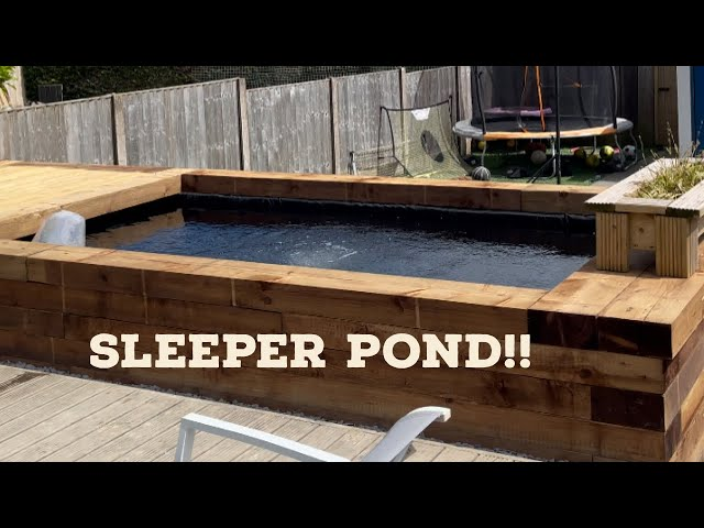 2500 GALLON SLEEPER POND - CONVERTED IN 3 DAYS!!!