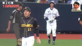 近本光司阪神タイガースドラフト1位、開幕1軍を予感させるバッティングと俊足を披露
