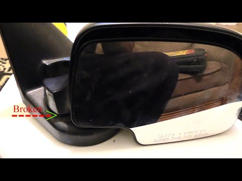 Fix Broken Side View Mirror Hub Neck Chevy Tahoe A Youtube