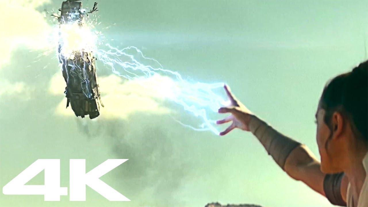 4K RISE OF SKYWALKER - All action scenes