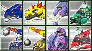 Dino Robot Corps #10: Dark Euoplo & Transformers | Eftsei Gaming