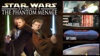Star Wars Episode 1: The Phantom Menace gameplay (PC Game, 1999)