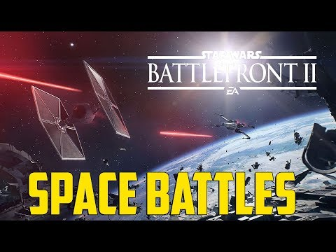 Star Wars Battlefront 2 - Space Battles