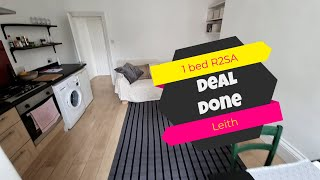 Deal Done with Jozef Toth - 1 bed R2SA - Leith, Edinburgh