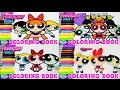 The Powerpuff Girls Coloring Book Compilation Blossom Episode Surprise Egg and Toy Collector SETC