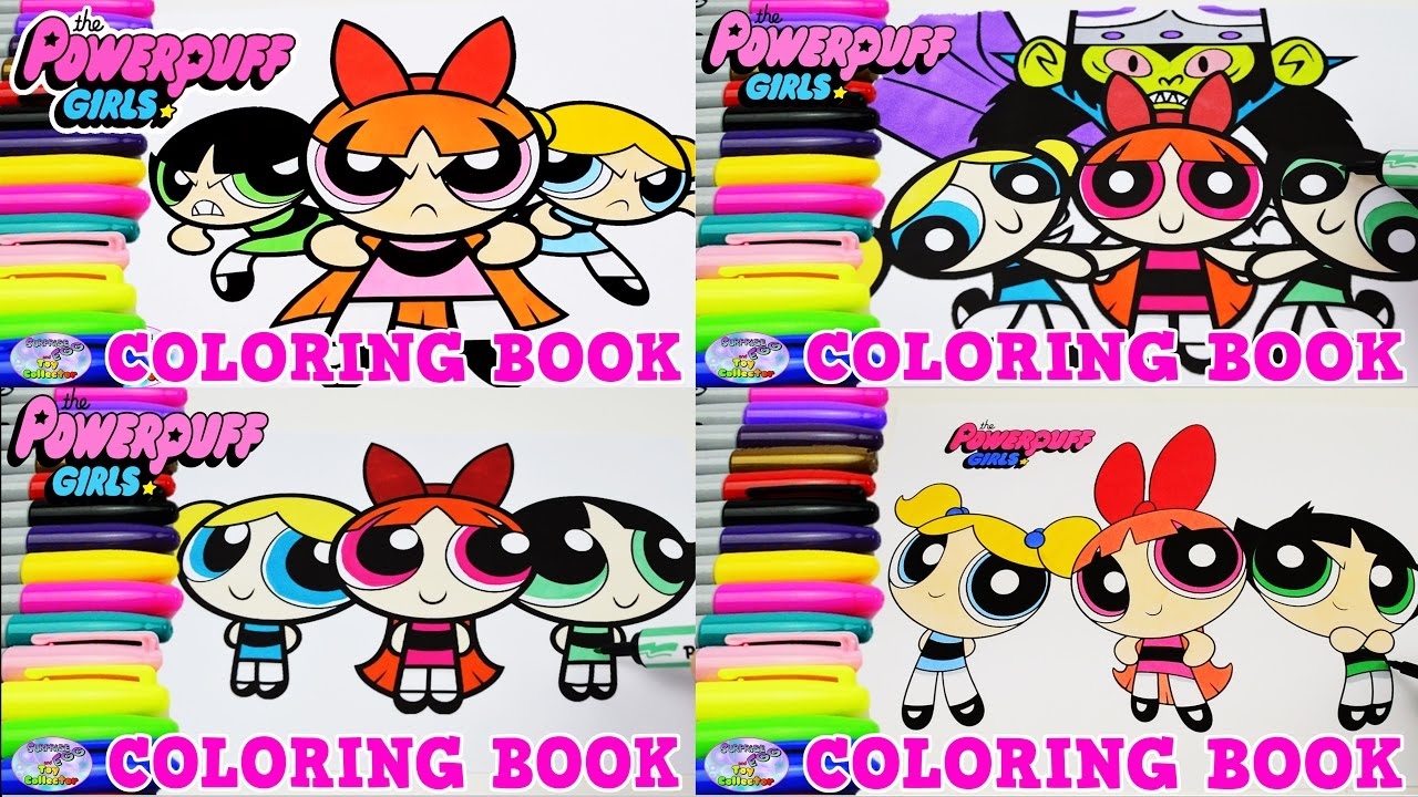 - The Powerpuff Girls Coloring Book Compilation Blossom Episode