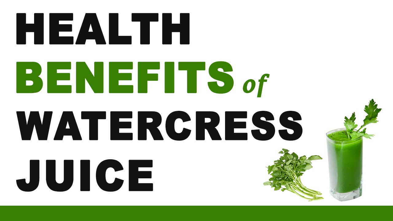 16 Amazing Health Benefits Of Watercress Juice And 2 Yummy Recipes images