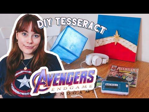 Avengers Endgame/MARVEL DIYS! ⚡ How To Make Your Own Tesseract