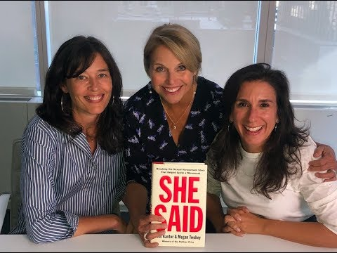 Katie Couric sits down with journalists Jodi Kantor and Megan Twohey