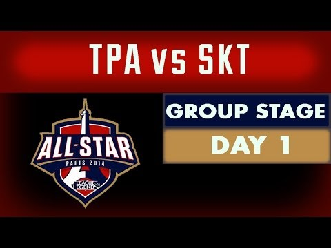 [Day 1] All-Star Games - Group Stage - TPA vs SKT