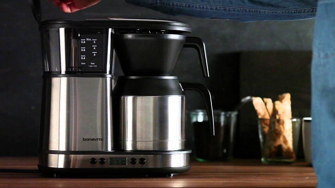 the bonavita 5 cup digital brewer coffee maker williams. Black Bedroom Furniture Sets. Home Design Ideas