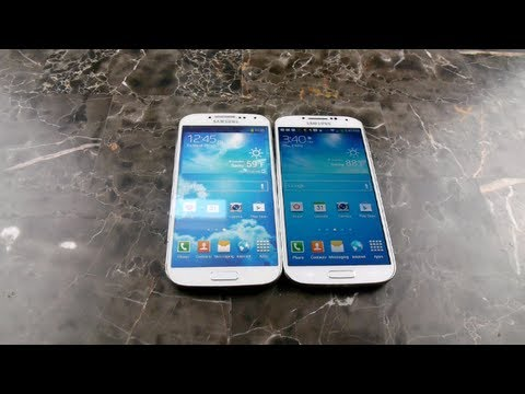 Real vs Fake Samsung Galaxy S4