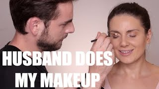 Husband Does my Makeup | Ali Andreea
