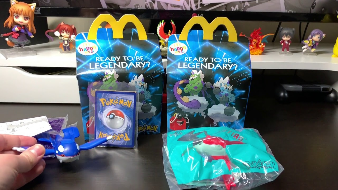 2019 Pokemon Mcdonalds In Happy Meal Toys Cards