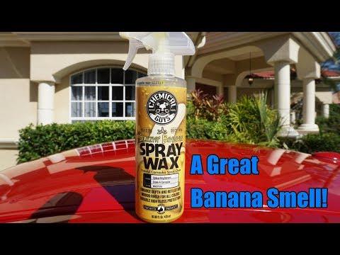 Chemical Guys Blazin Banana Spray Wax Review on my Nissan GTR.