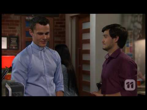 [Neighbours] 7535 David & Jack Scene